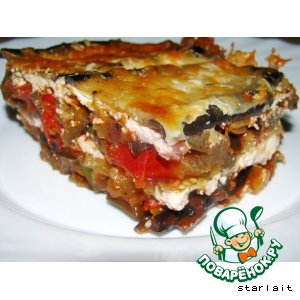 Рецепт Запеканка из баклажанов с помидорами