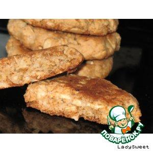 Рецепт Печенье из геркулеса и блинной муки