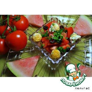 Рецепт Арбузно-помидорная радость