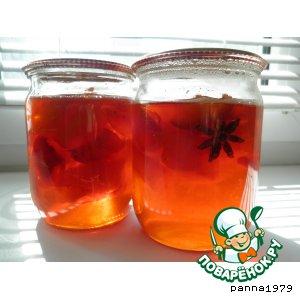 Рецепт Персиковое варенье с анисом