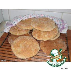 Рецепт Лепешки с овсяными хлопьями