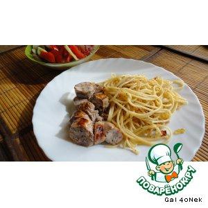 Рецепт Итальянские спагетти по-украински