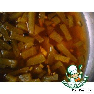 Рецепт Маринованные арбузные корки