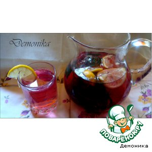 Рецепт Освежающий напиток из регана - базилика