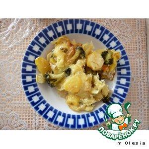 Овощная запеканка простой рецепт приготовления с фотографиями пошагово готовим