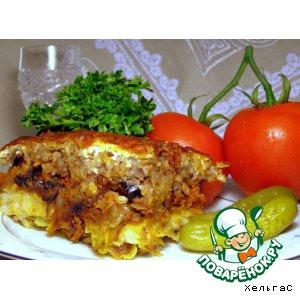 Рецепт Запеканка с рыбой и гречневой кашей