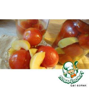 Рецепт Помидоры с яблоками
