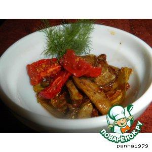 Рецепт Вяленые баклажаны