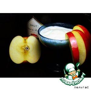 Рецепт Коктейль  с яблоком и шампанским - Поздравление с Днем Рождения для Ниночки Barska