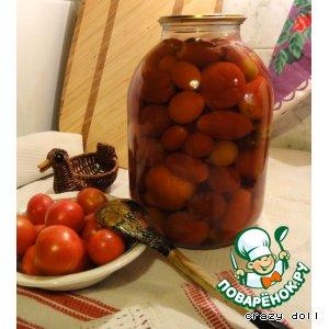 """Консервированные помидоры """"Семейные"""""""