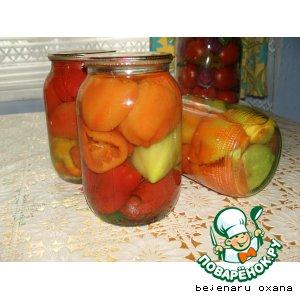 Рецепт Консервированный сладкий перец