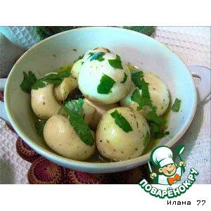 Маринованые шампиньоны пошаговый рецепт с фото готовим