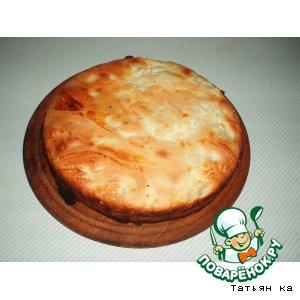Рецепт Дынно-творожный пирог