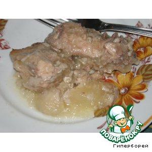 Рецепт Курица в орехово-чесночном соусе-желе