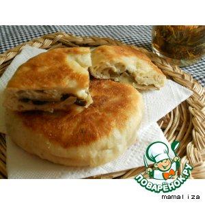 Рецепт Китайские пирожки с баклажанами
