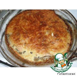 Рецепт Мясо под майонезом домашнего приготовления