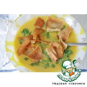 Рецепт Суп-пюре из красной чечевицы