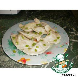 Рецепт Вкусные вареники с картошкой и печенью