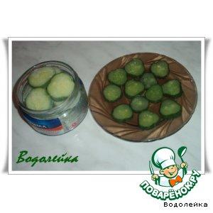Рецепт Заготовка огурцов (заморозка)