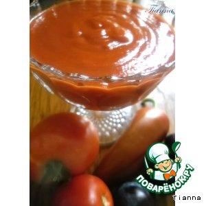 Рецепт Томатно-сливовый соус