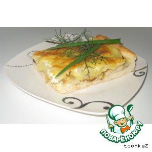 Рецепт Пирог с белыми грибами и картофелем
