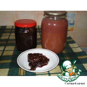 Рецепт Сливовый сок и сливовый джем