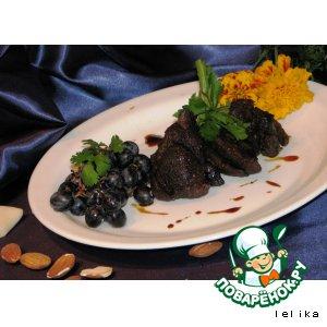 Рецепт Окорок индейки в сладком маринаде