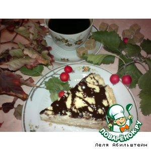 Рецепт Ватрушка по-королевски с шоколадной глазурью