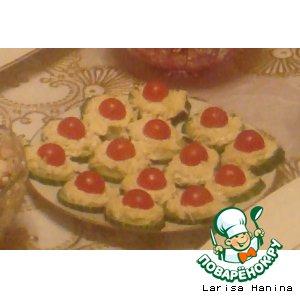 Огурцы с сыром и черри домашний рецепт приготовления с фото пошагово