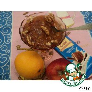 Рецепт Яблочно-апельсиновое варенье с корицей