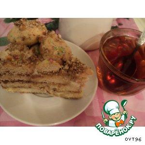 """Рецепт Безумно вкусный торт """"Никитка"""""""