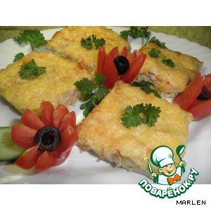Рецепт Картофель под сырной корочкой