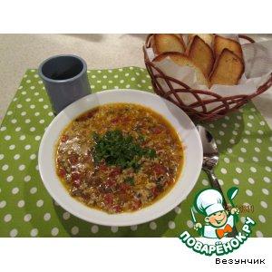 """Рецепт """"Итальянский"""" суп"""