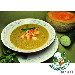 """Рецепт Холодный суп """"Гаспачо"""" для худеющих - воспоминание о лете"""