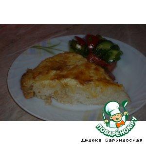Рецепт Запеканка рисовая с курицей