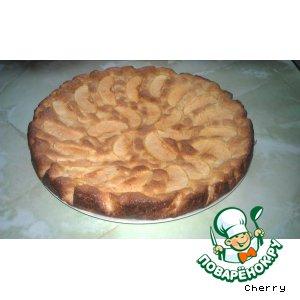 Рецепт Клафути с яблоками