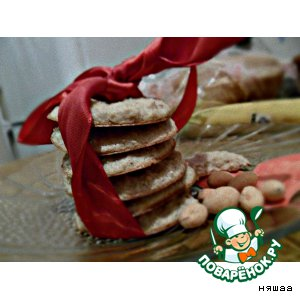 Рецепт Овсяное печенье  без муки и масла