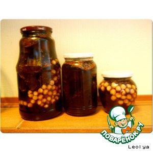 Рецепт Варенье из инжира с фундуком