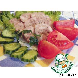Колбаса куриная домашняя быстрого приготовления