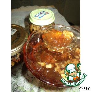 Рецепт Яблочное желе с орехами