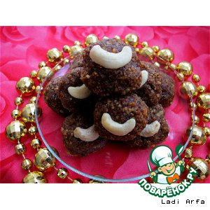 Рецепт Ладду - блюдо восточных сладостей из нута