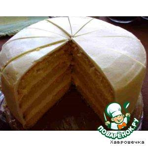 Рецепт Торт с лимонным муссом и кердом