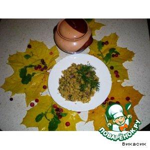 Рецепт Горшочки с горохом