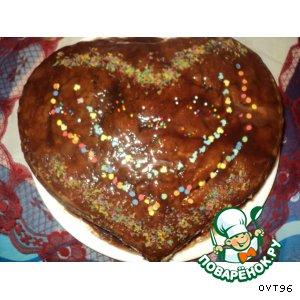 Рецепт Шоколадный торт с хурмой