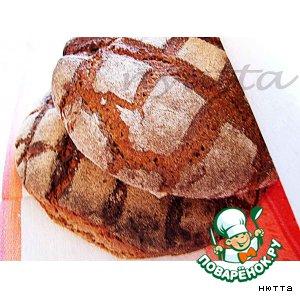 """Рецепт Советская закваска для ржаного хлеба и """"Столовый"""" ржаной хлеб"""