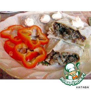 Готовим Куриные сердечки в лаваше рецепт приготовления с фото пошагово