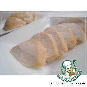 Рецепт Куриная пастрома с можжевельником