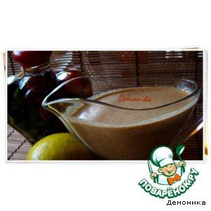 Рецепт Имбирно-луковый соус