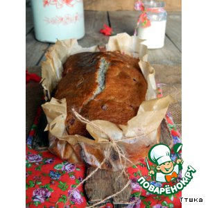 Рецепт Брусничный кекс