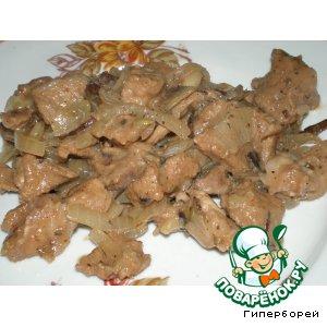 Рецепт Свинина в сливовом соусе